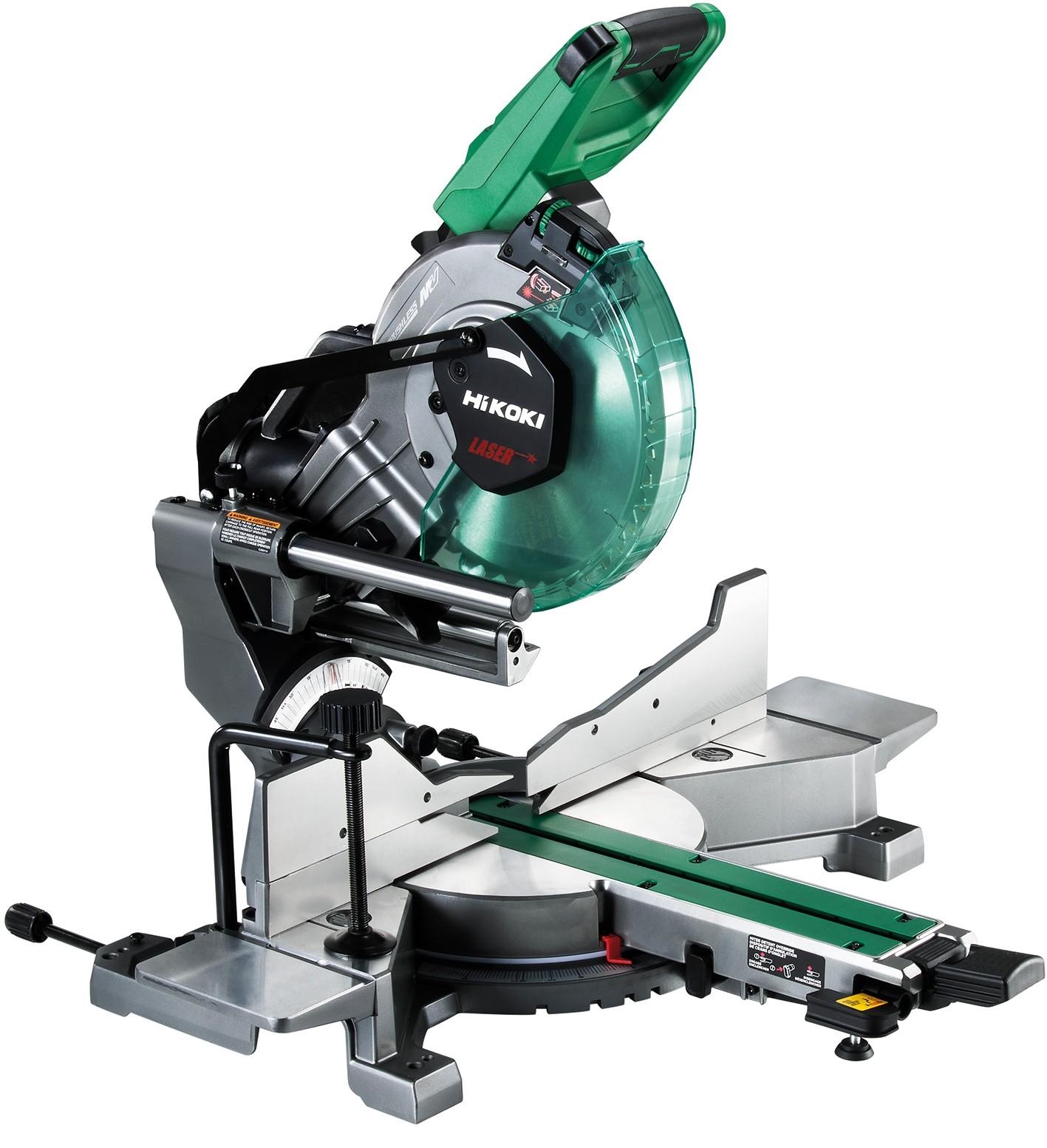 Scie radiale à coupe d'onglet Ø 255 mm - Faisceau laser
